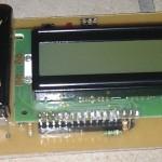 Transistortester mit Widerstand für die Hintergrundbeleuchtung