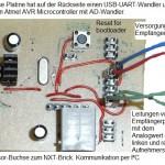 NXT AVR-Platine für Leiterschleifenverfolgung