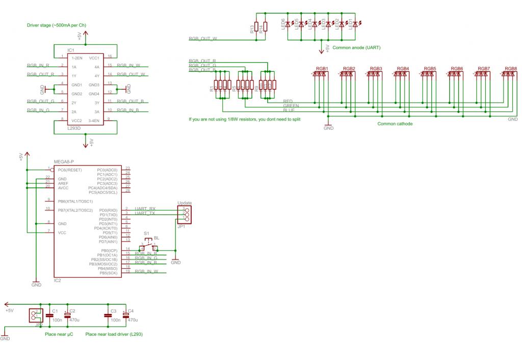 FakeTV schematic
