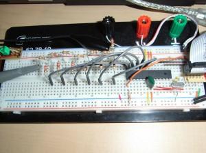 Signalgenerator - Prototyp R2R mega8